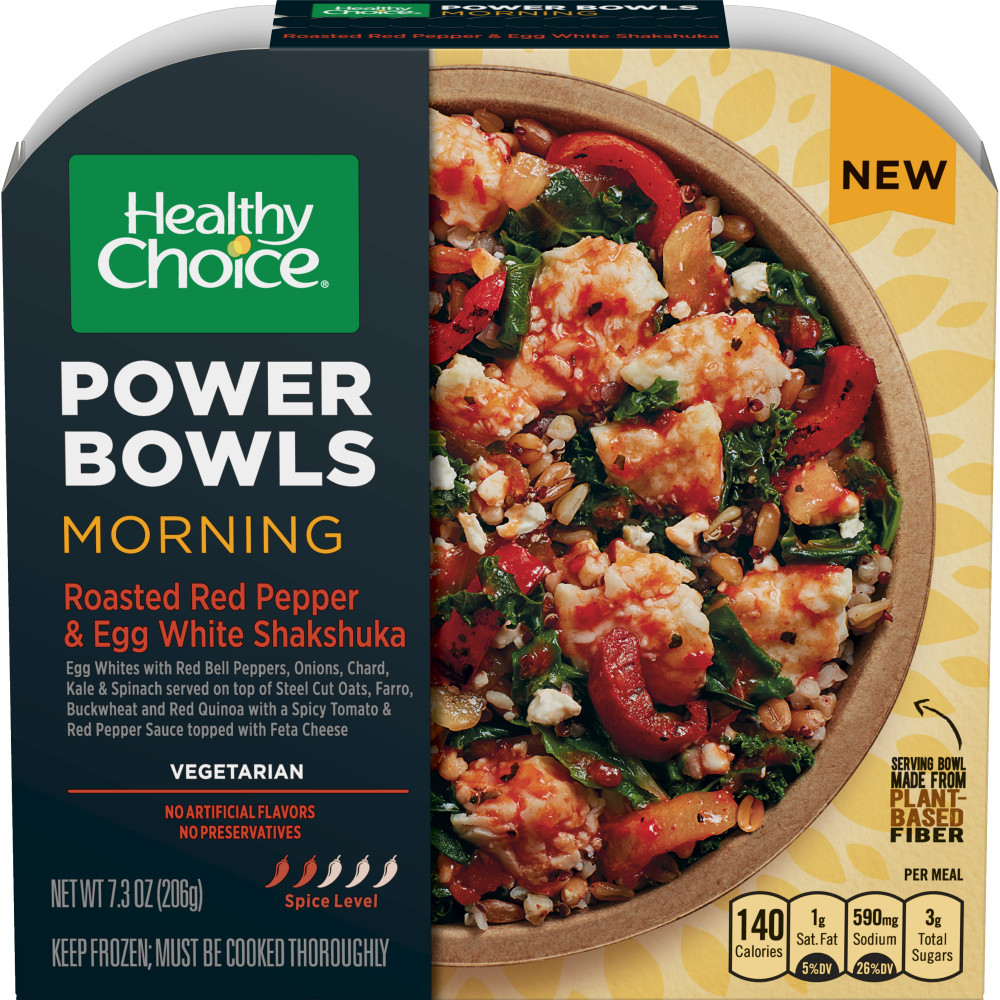 HEALTHY CHOICE Power Bowl Roasted Red Pepper And Egg Shakshuka