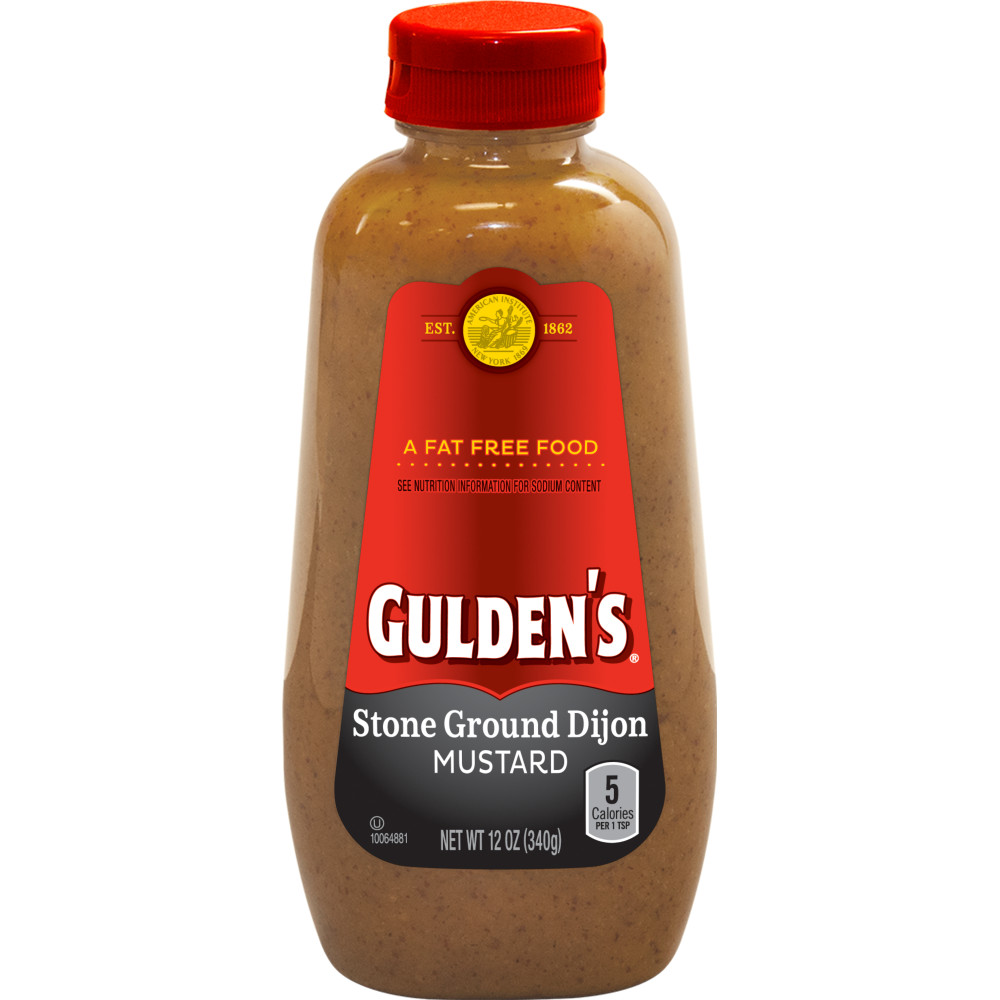 GULDENS Stone Ground Dijon Mustard