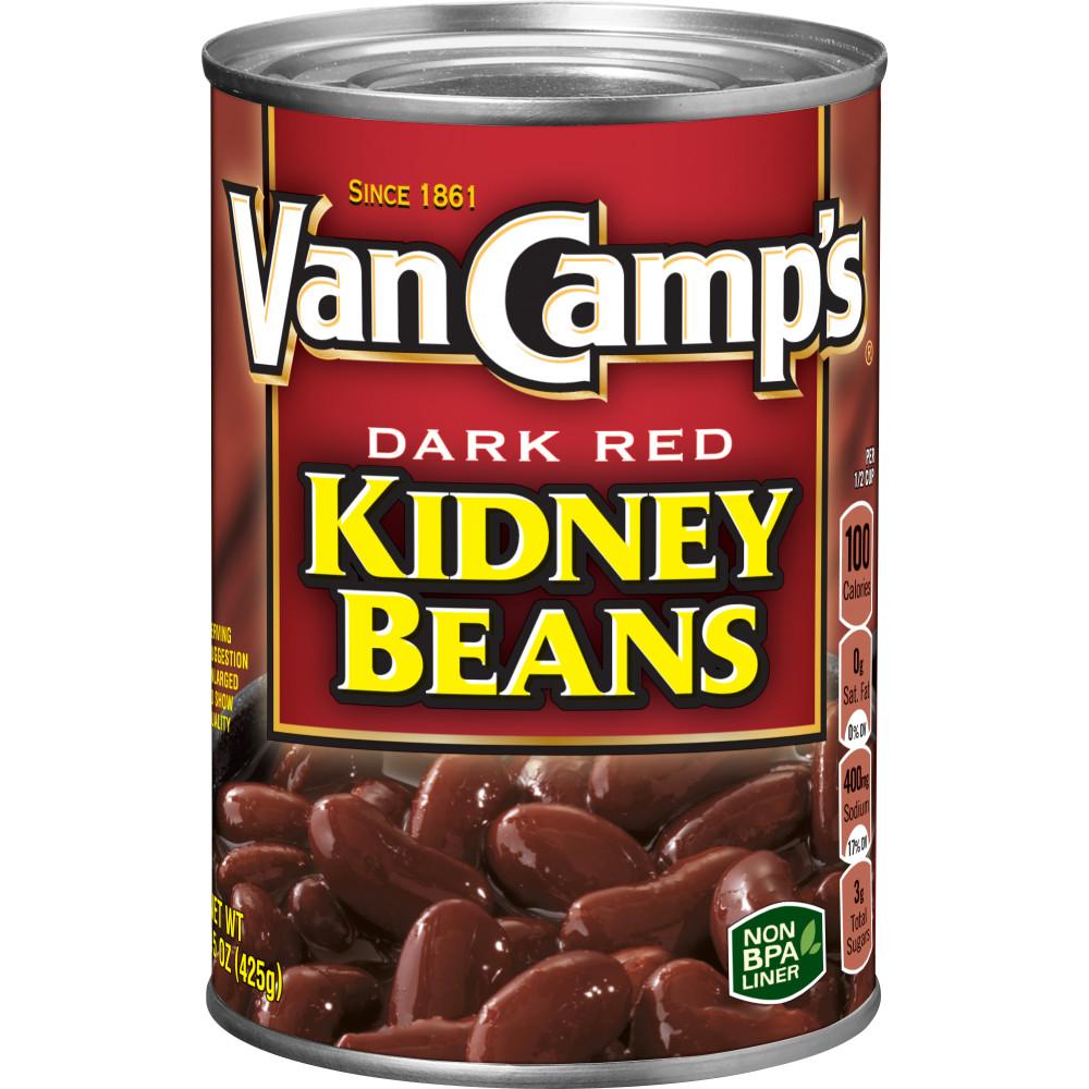 Van Camps Dark Red Kidney Beans Conagra Foodservice