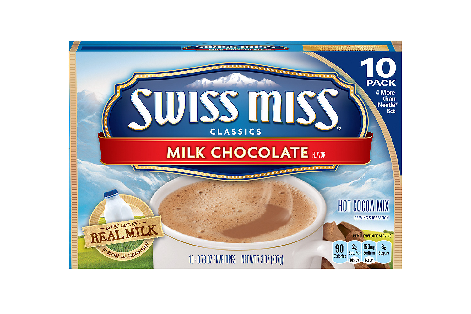 SWISS MISS Hot Cocoa Mix Milk Chocolate
