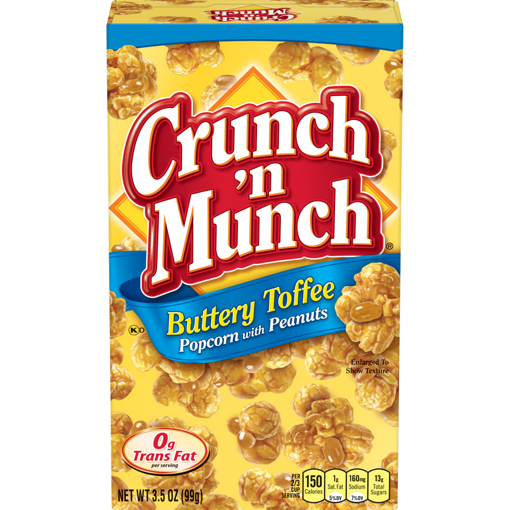 CRUNCH N MUNCH Buttery Toffee Popcorn