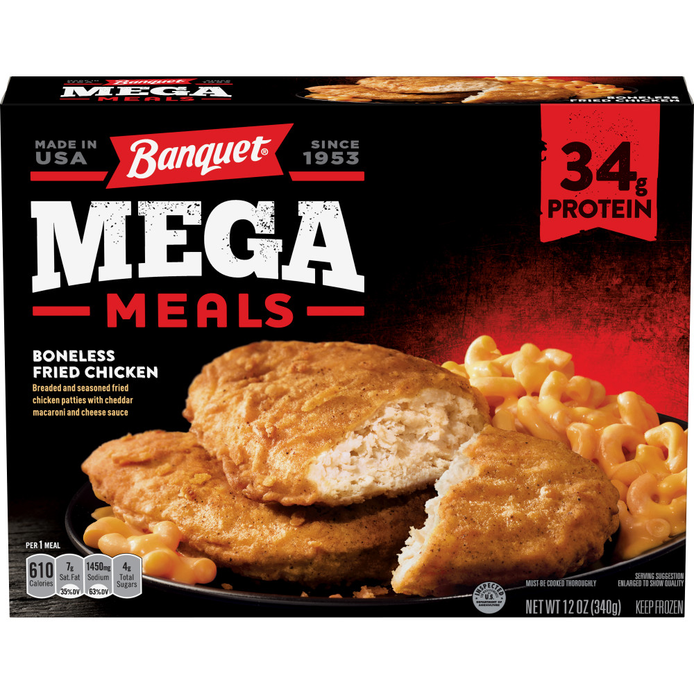 BANQUET Boneless Fried Chicken Mega Meal