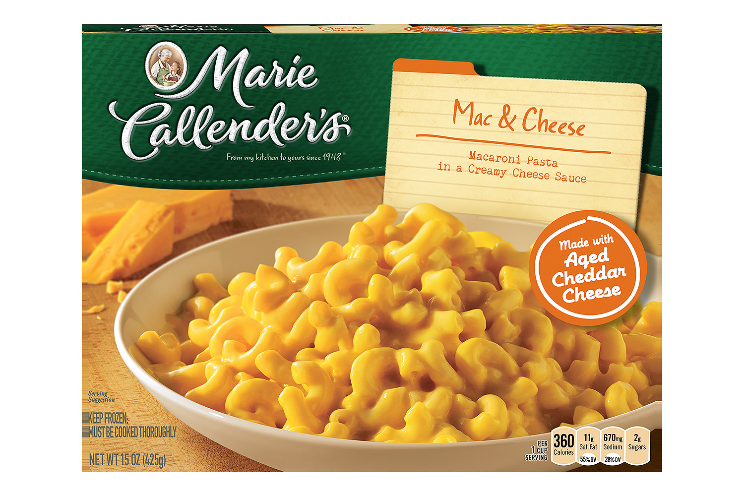 MARIE CALLENDERS Mac And Cheese