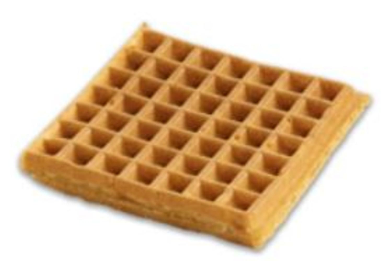 "Belgian Whole Grain Waffles 4""Square, 2.4 oz."