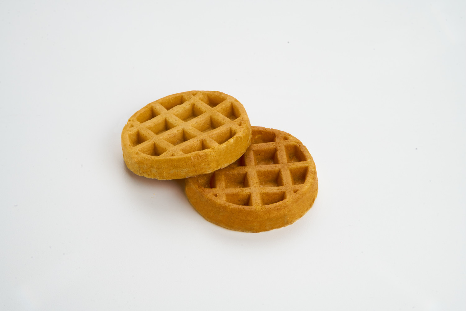 KRUSTEAZ Round Maple Flat Bottom Waffle