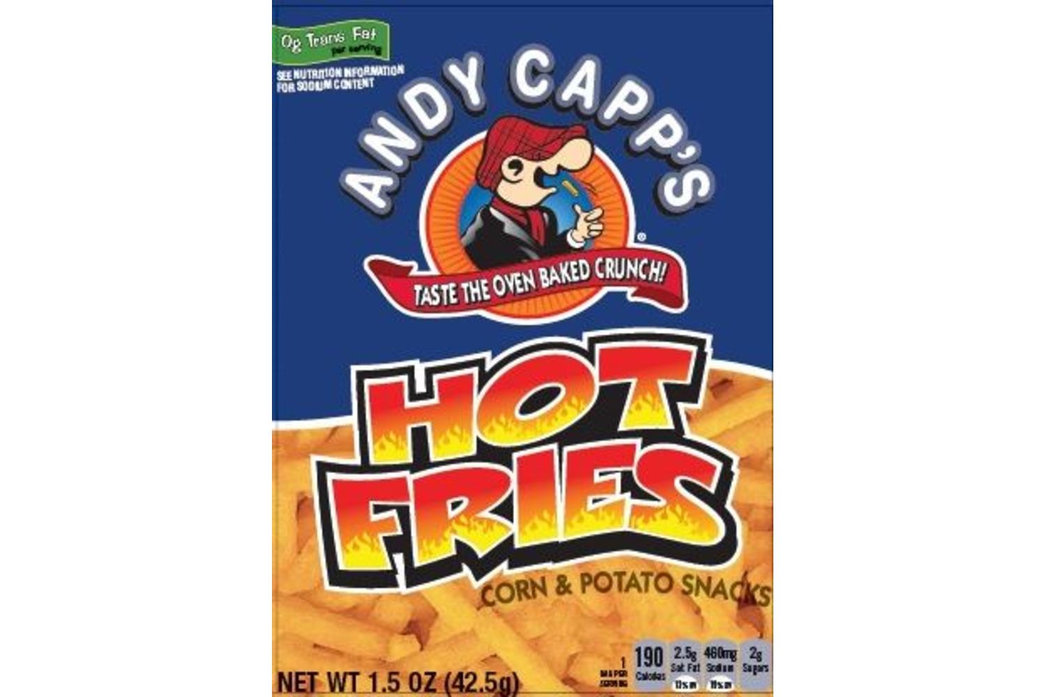 ANDY CAPP Hot Fries