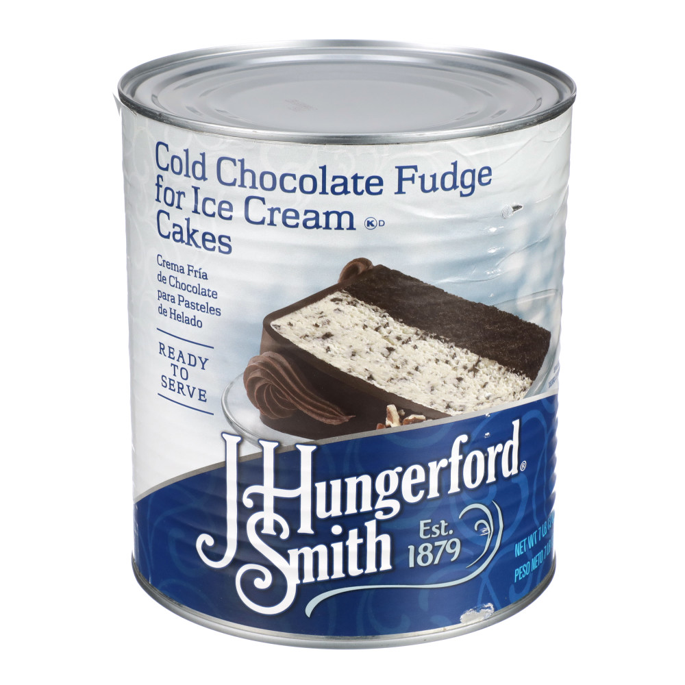Cold Fudge for Ice Cream Cakes, #10 can