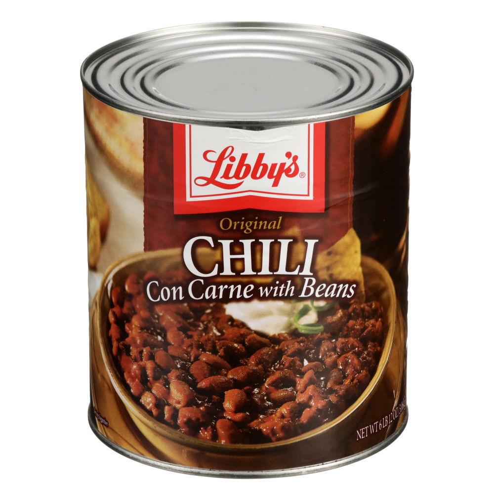 Chili with Beans - #10 Can
