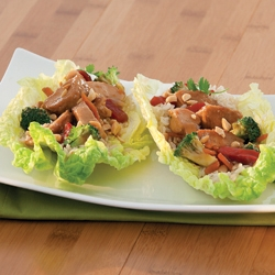 CHICKEN TERIYAKI NAPA WRAP