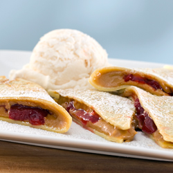 PEANUT BUTTER & JELLY CREPE