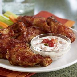 SWEET HEAT GLAZED HOT WINGS