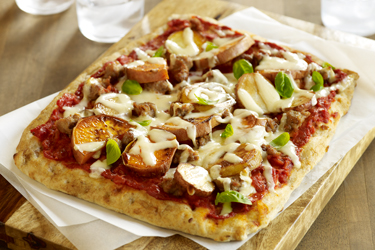 FIERY TURKEY FLATBREAD