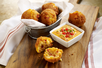 MISSISSIPPI CORN AND TOMATO HUSHPUPPIES
