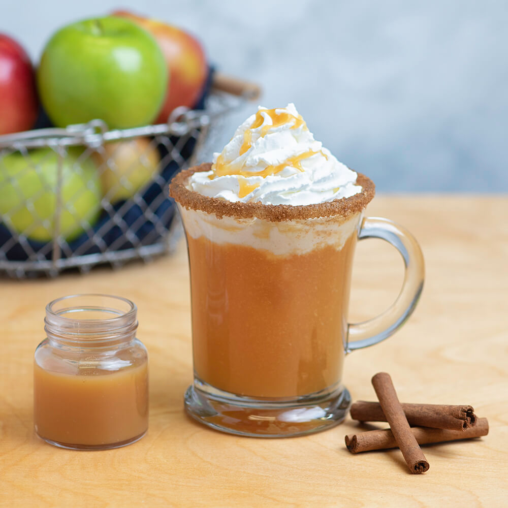 SPIKED CARAMEL APPLE CIDER