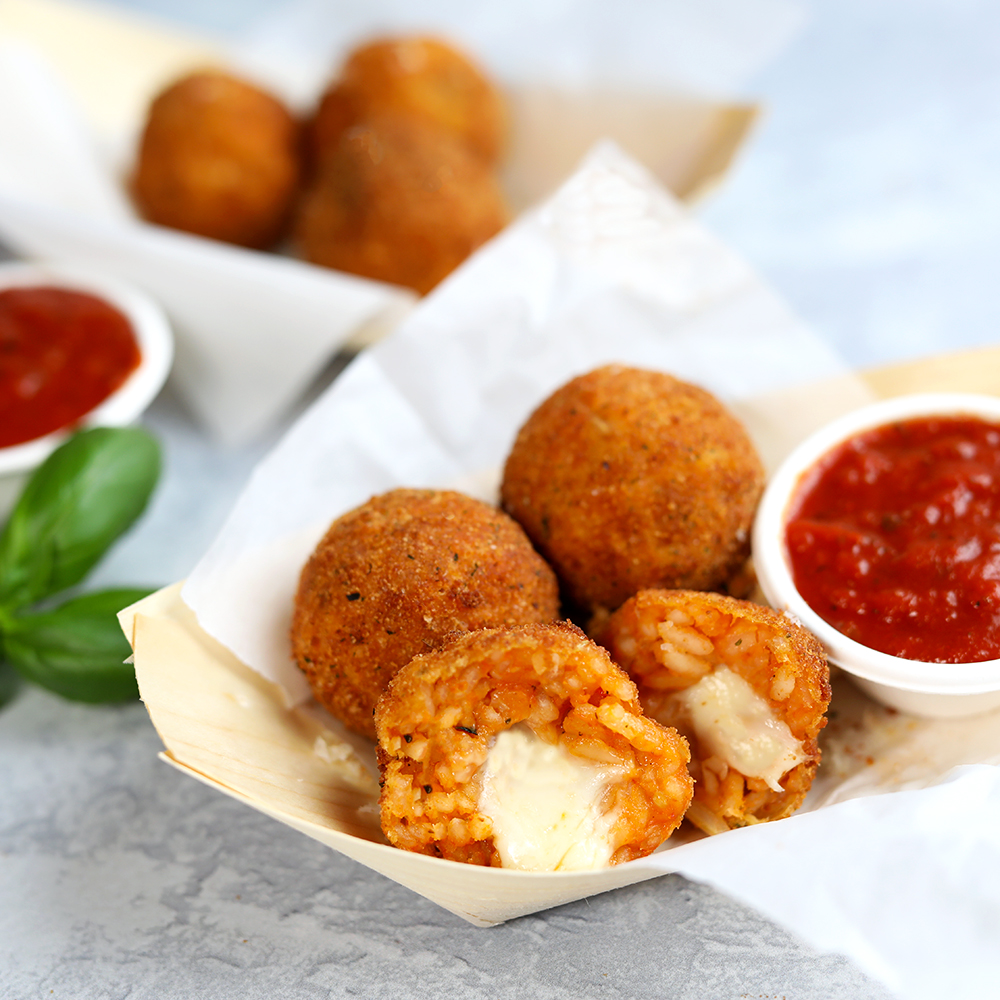 CHEESE STUFFED ARANCINI